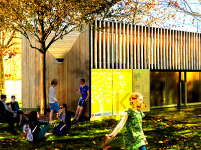 MODULAR SPACE FOR ENVIRONMENTAL EDUCATION
