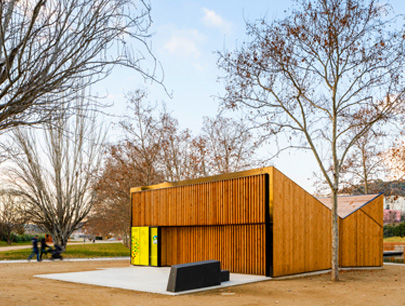AULA K. MODULAR SPACE FOR ENVIRONMENTAL EDUCATION